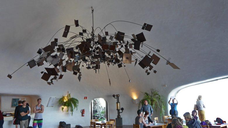 Blick in die Cafeteria des Miradors