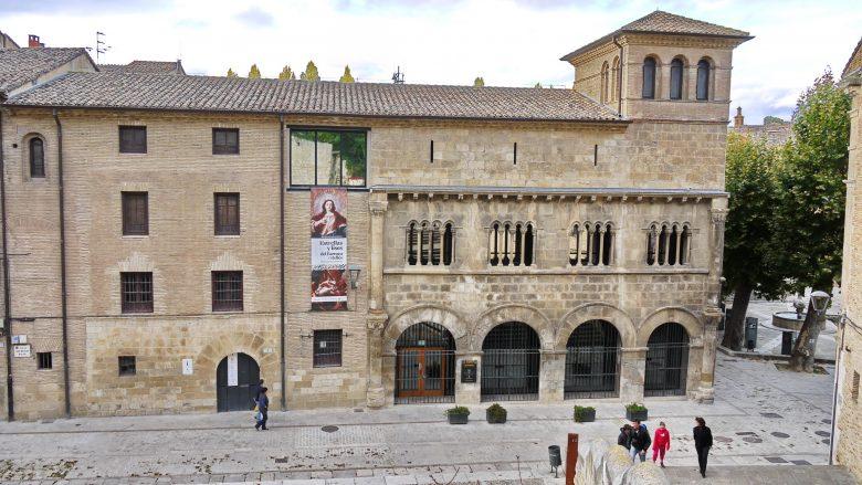 Der Palast der Könige von Navarra in Estella