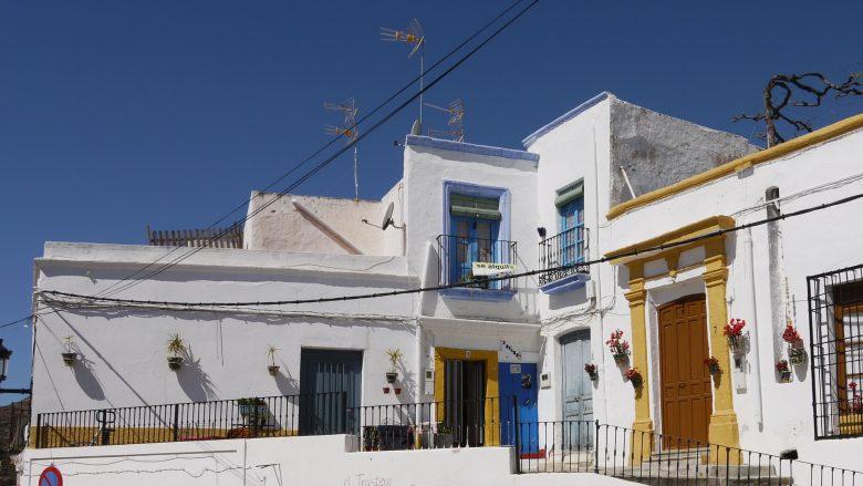 Weiße Häuser in Níjar
