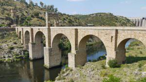 Die römische Brücke von Alcántara