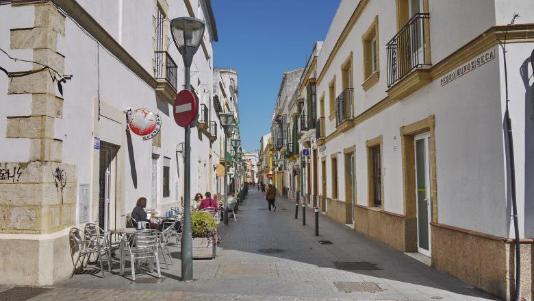 In der Altstadt von El Puerto de Santa María
