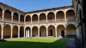 Innenhof de Universität Sancti Spiritus in Oñati