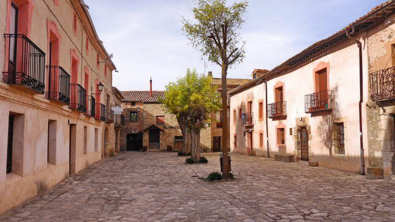 Kleiner Platz in Medinaceli