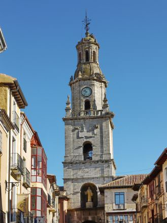 Torre del Reloj am Marktplatz von Toro