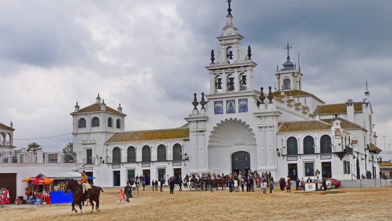 Die Wallfahrtskirche von El Rocío