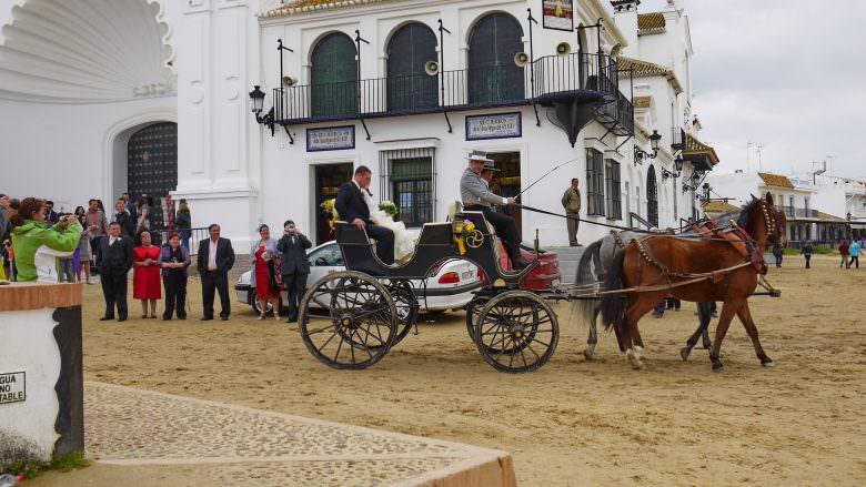 Eine Hochzeit in El Rocío