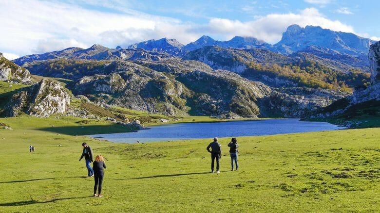 Asturien: Lago de la Ercina