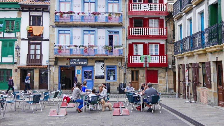 Altstadt von Hondarribia