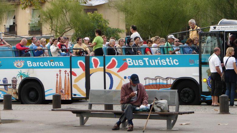Touristenbus in Barcelona