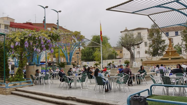 Platz im Zentrum von Lorca