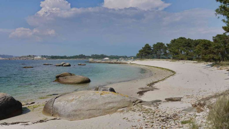 Strand im Parque Natural de Carreiron