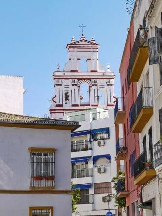 Kirche im Viertel La Macarena