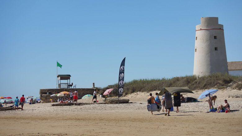 Playa de Palmar mit dem Torre Nueva
