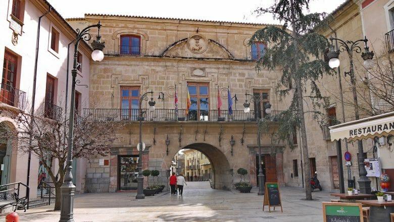 Rathaus von Caravaca de la Cruz