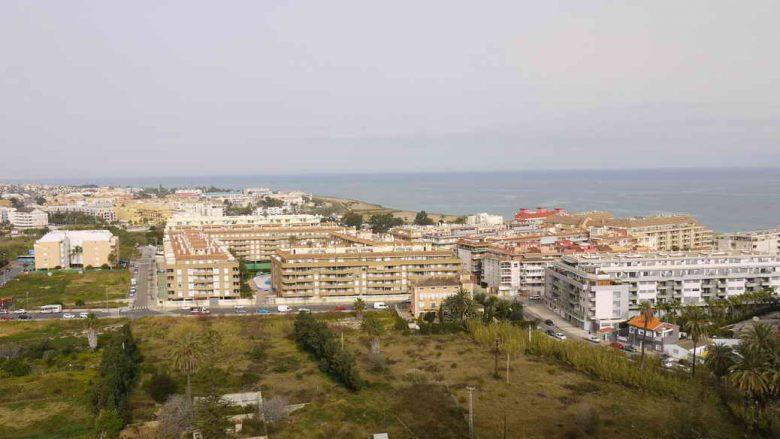Die modernen Urlaubssiedlungen im Norden von Dénia