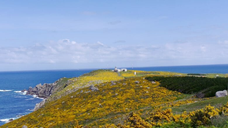 Punta da Estaca de Bares mit dem Leuchtturm