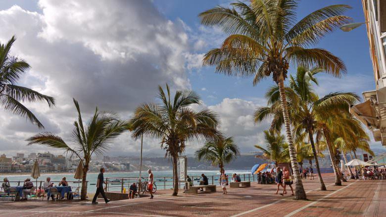 Strandpromenade von Las Palmas de Gran