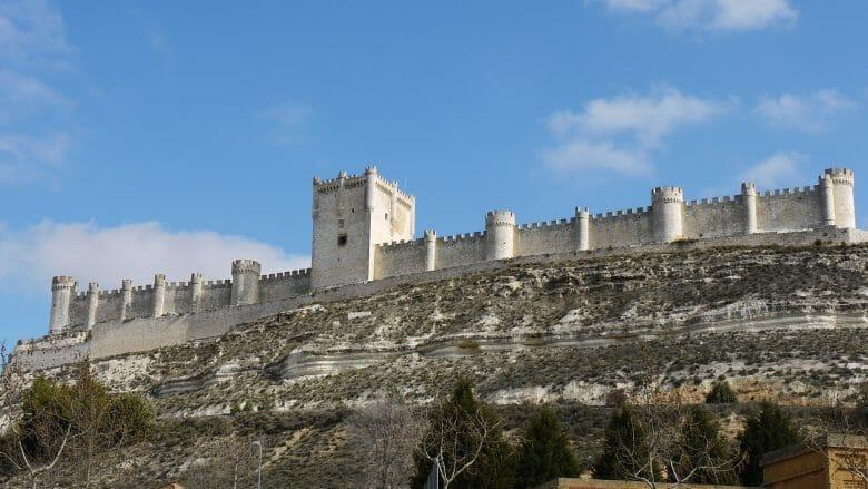 Die Burg von Peñafiel
