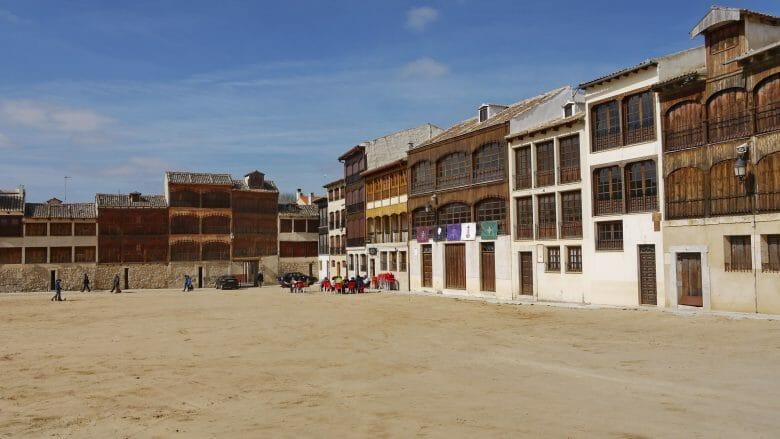 Der Hauptplatz von Peñafiel, die Plaza del Coso