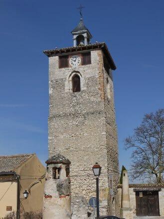 Torre del Reloj (Uhrturm) in Peñafiel