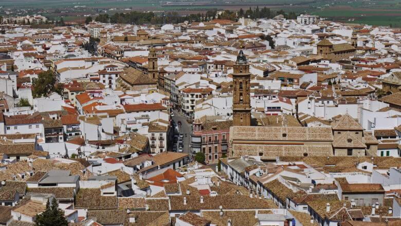 Das Zentrum von Antequera