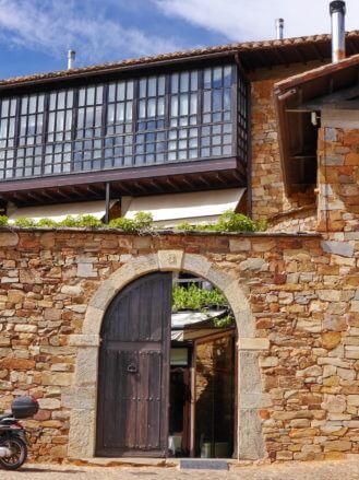 Eingang in das Restaurant Casa Coscolo
