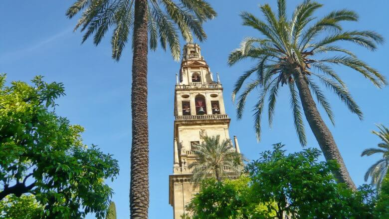 Glockenturm der Mezquita in Córdoba