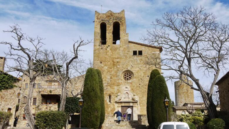 Kirche Sant Pere in Pals (Provinz Girona / Katalonien)