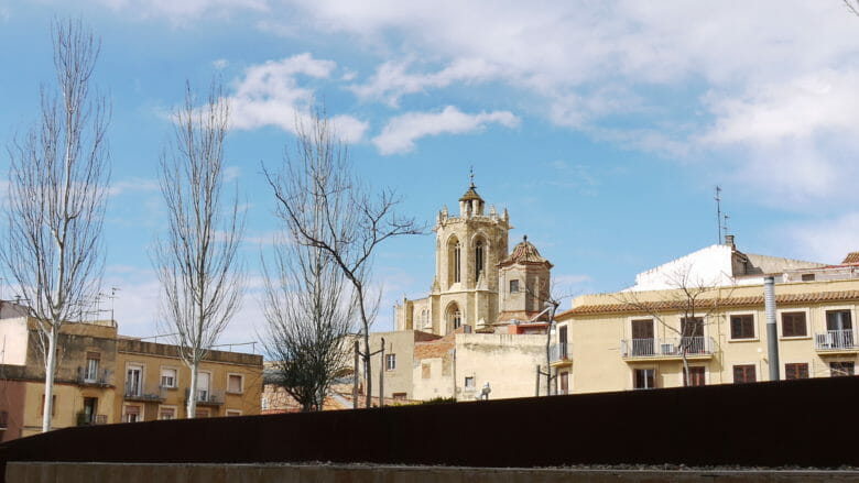 Turm der Kathedrale von Tarragona Santa Tecla