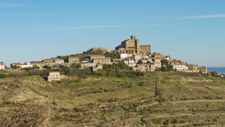 Ujué (Navarra), eines der schönsten Dörfer Spaniens