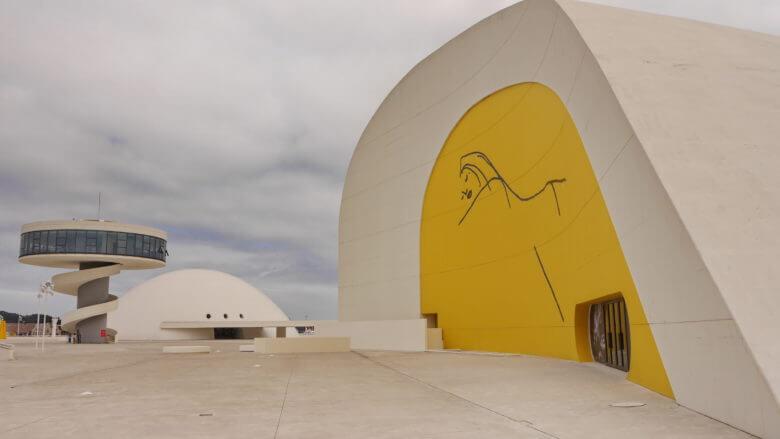 Das moderne Kulturzentrum Centro Niemeyer in Avilés