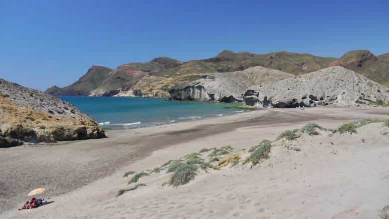 Playa de Mónsul am Cabo de Gata