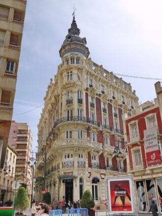 Gran Hotel de Cartagena, Architekt Víctor Beltrí, erbaut 1912-1916