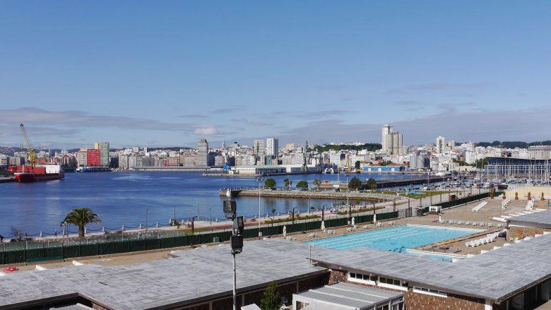 A Coruña Hafen