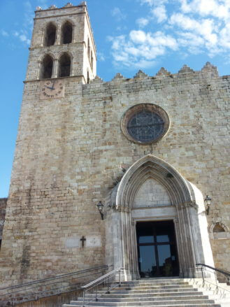 Die Kirche Santa María in Blanes