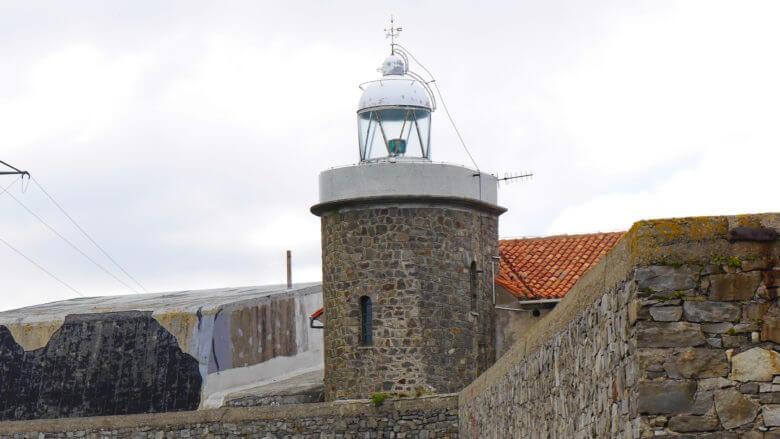 Der kleine Leuchtturm auf dem Cabo Vidío