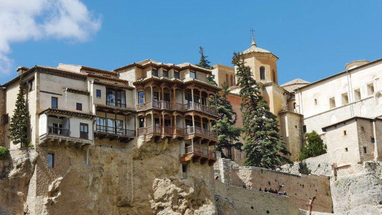 Die hängenden Häuser (Casas Colgadas) in Cuenca