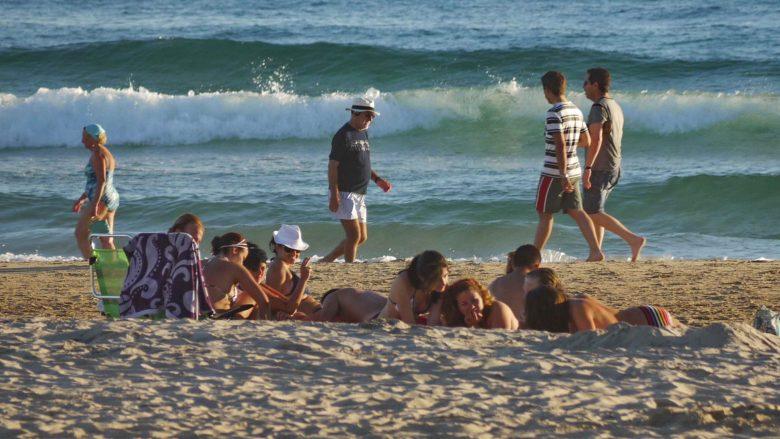 Erholung und Freude am Strand
