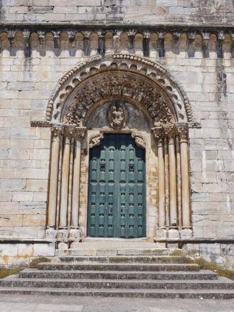 Das Portal der Kirche San Nicolás