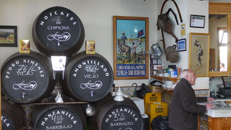 Der Manzanilla Wein ist eine Spezialität von Sanlúcar