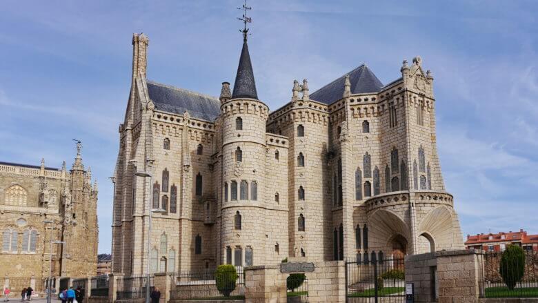 Der Bischofspalast (Palacio Episcopal) von Astorga