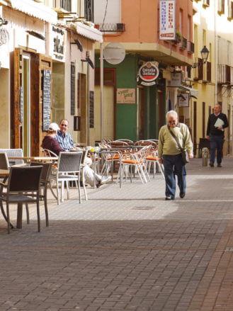 Morgens in der Altstadt