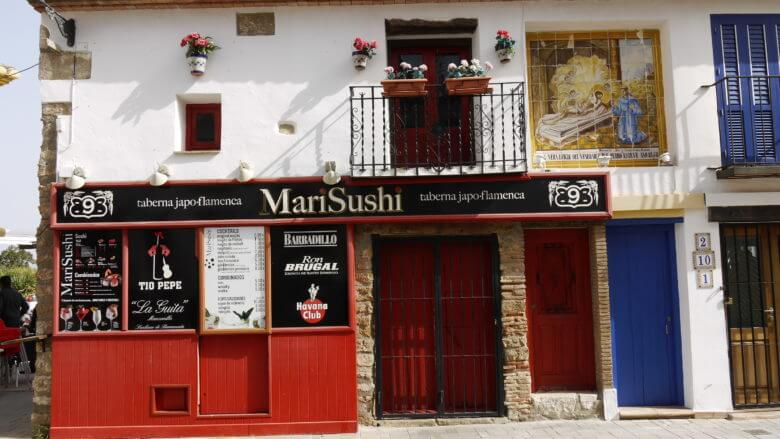 Taverne im Fischerviertel von Dénia