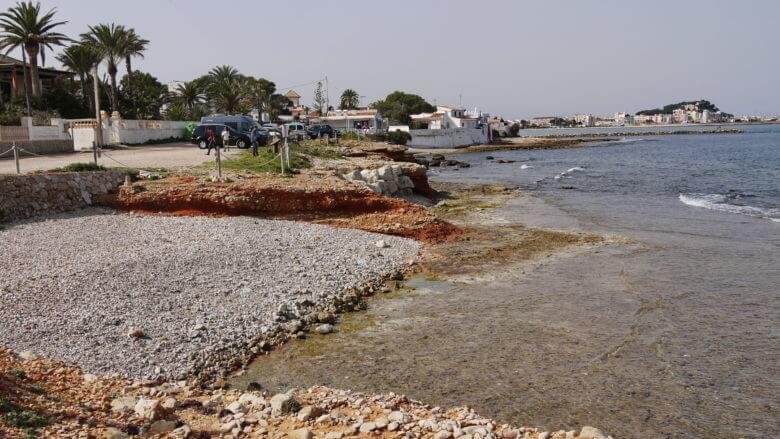 Kleine Bucht am Cap de Sant Antoni in Dénia