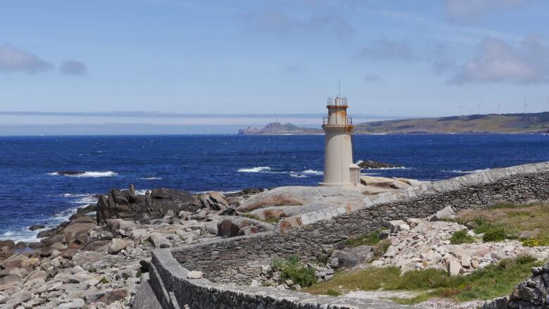 Faro de Muxía an der Costa da Morte