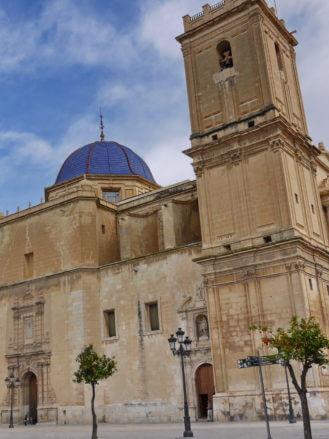Die Kirche Basílica de Santa María in Elx