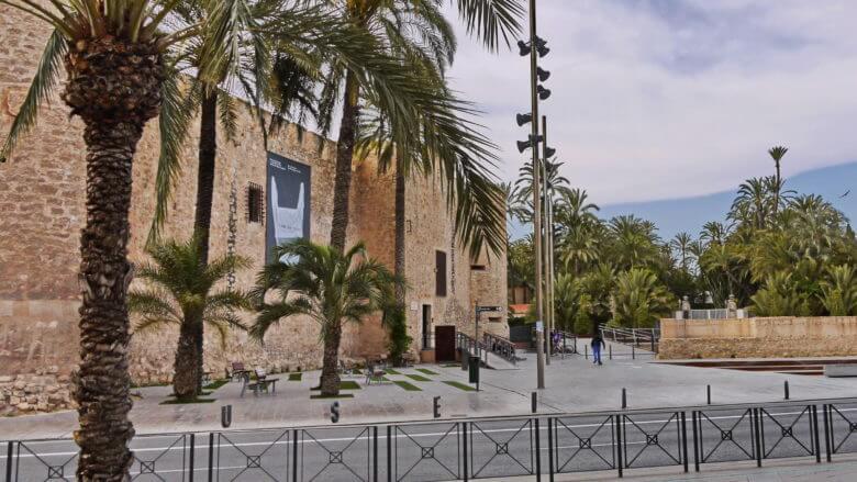 Der Palacio de Altamira in Elx (Elche)