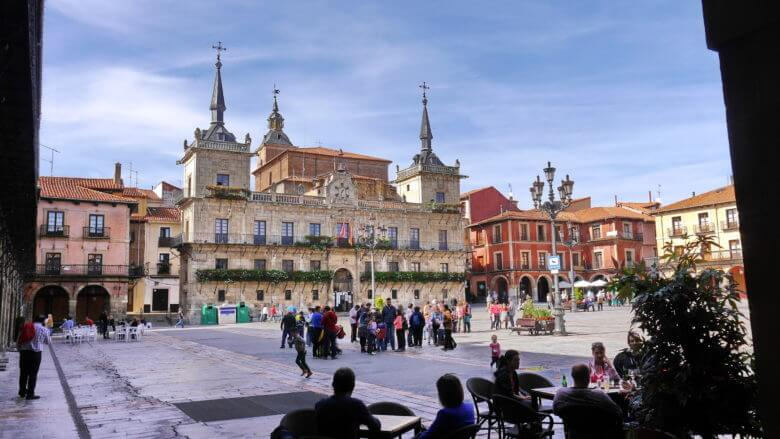 Rathaus an der Plaza San Marcelo