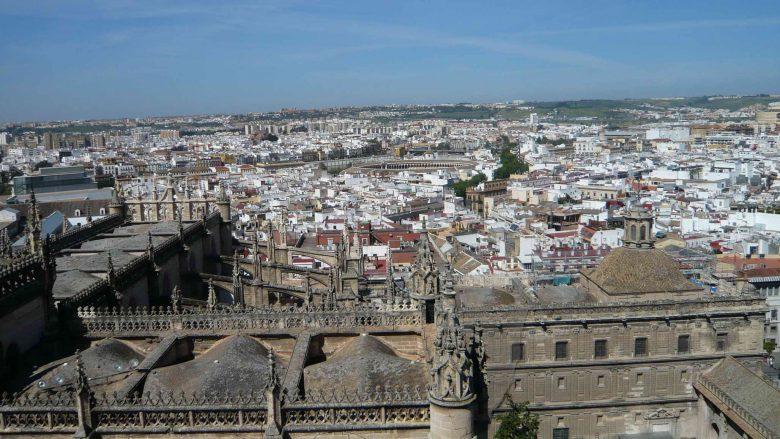 Blick über die Kathedrale auf die Altstadt