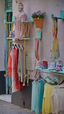 Mode und Klamotten im Barrio de Santa Cruz